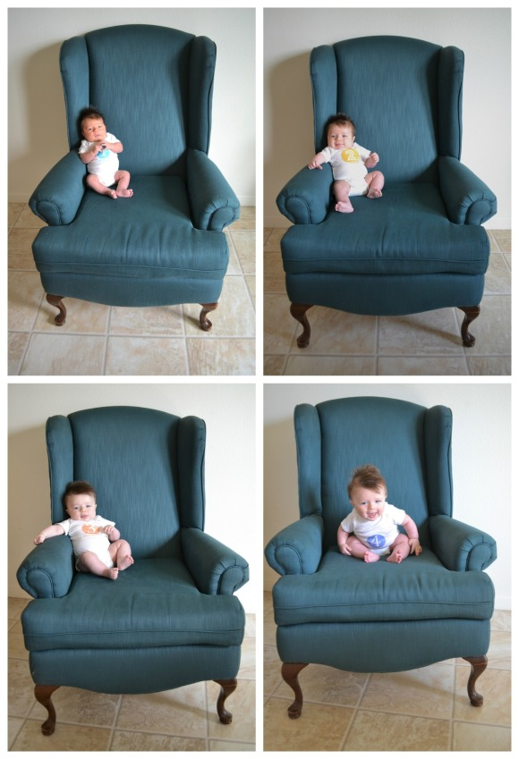 R.Simple Life | Four months of Harry in a chair