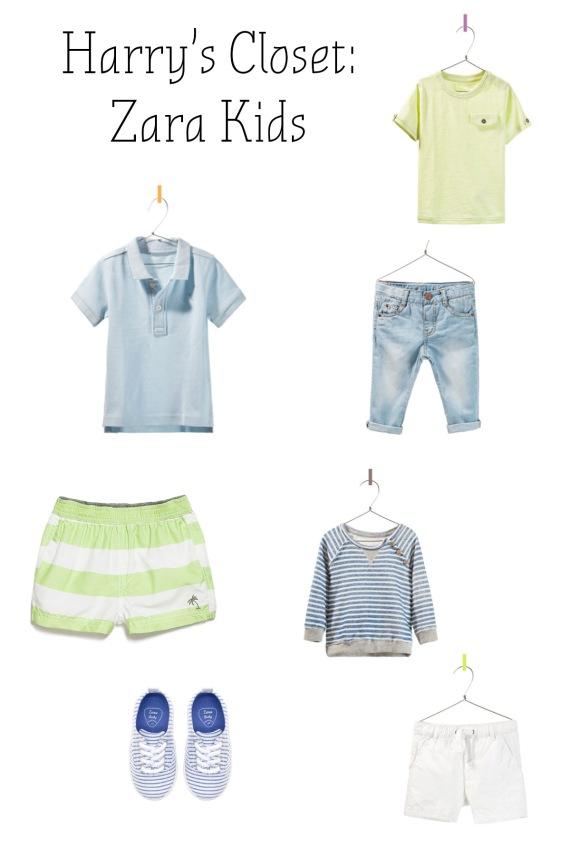 Dressing Boys: Zara Kids