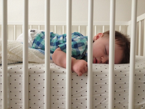 R. Simple Life | I could watch my baby sleep forever.