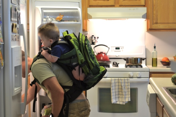 R.Simple Life | Baby in a Backpack