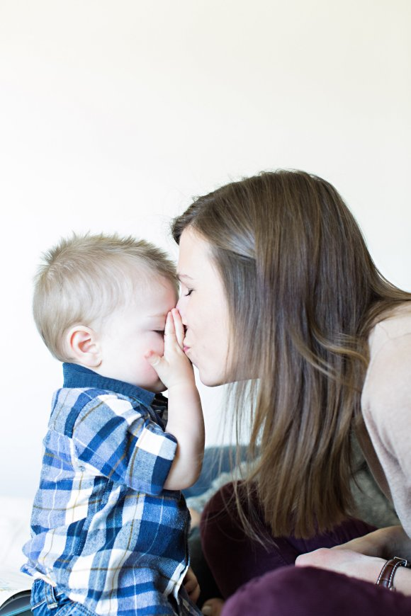 Do you kiss your kids on the lips? | R.Simple Life